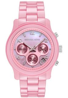 Michael Kors MK5194 Watches,Womens Chronograph Pink Mother Of Pearl