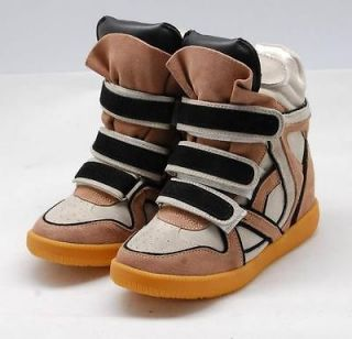 NEW 4 color ISABEL MARANT Wedge Sneaker casual shoes boots