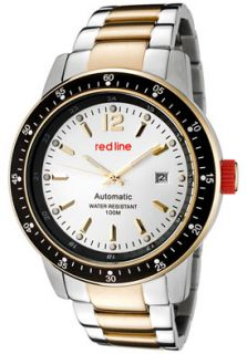 Red Line 50013 22S YGSS Watches,Mens Meter Automatic Silver Dial