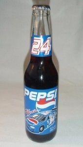 JEFF GORDON Nascar #24 12oz. PEPSI Bottle UNOPENED