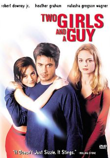 Two Girls and a Guy DVD, 2001, Sensormatic