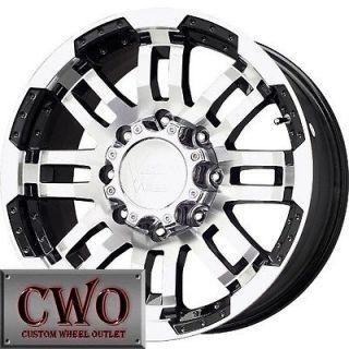 Warrior Wheels Rims 6x139.7 6 Lug Titan Tundra GMC Chevy 1500 Sierra