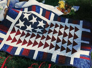 pattern  quilt pattern Salute patriotic American flag magazine 4427