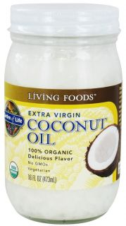 Buy Garden of Life   Extra Virgin Coconut Oil   16 oz. at LuckyVitamin