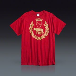 Roma Shield T Shirt  SOCCER