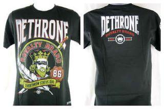 Dethrone Royalty Blind Folded Authentic Black T shirt New