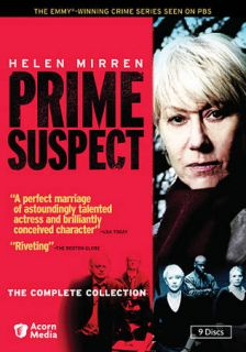 Prime Suspect The Complete Collection DVD, 2010, 9 Disc Set