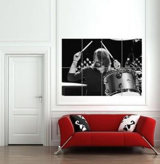 DAVE GROHL DRUMMING FOO FIGHTERS NIRVANA GIANT POSTER PRINT B868