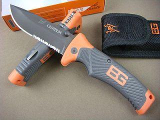 Outdoor Knife Gerber Bear Grylls Tactical Survival Rescue K136zm