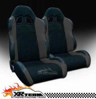 PVC Leather Sport Racing Seats+Sliders 14 (Fits Jeep Grand Cherokee