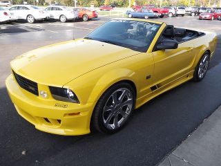 Ford  Mustang SALEEN S281 SCREAMING YELLOW BEAUTY CHROME WHEELS