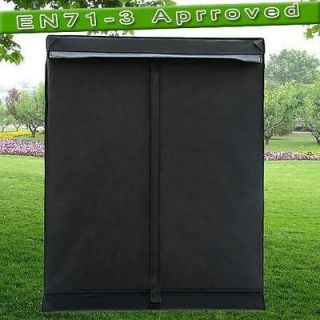 48x24x60 Reflective Mylar Hydroponics Grow Tent Dark Room Hydro Box