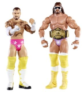 Sorry, out of stock Add WWE 2 Pack Figure   Randy Savage vs CM Punk