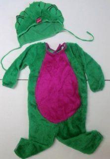 Baby Bop PLUSH Halloween Costume girl 2 3 4 Barney Disguise 1997