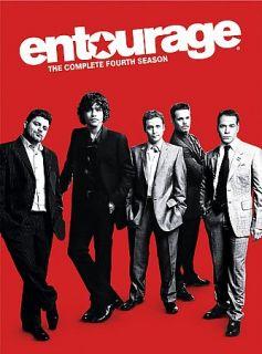 Entourage   The Complete Fourth Season DVD, 2008, 3 Disc Set