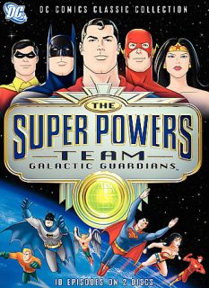 The Super Powers Team Galactic Guardians DVD, 2007, 2 Disc Set