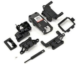 Kyosho AWD Rear Main Chassis Set (Black) [KYOMD015BK]  RC Cars