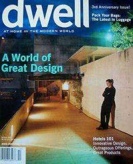 DWELL Prefab Home Arthur Erickson Modern House 3rd Anniversary Issue