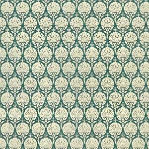 Doll House  Wallpaper Art Nouveau Ottoma​n   green (H94)