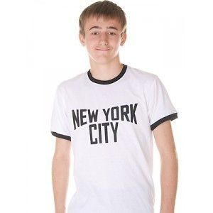 NEW YORK CITY T Shirt, made famous by John Lennon, The Beatles