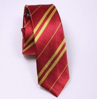 Nice New Harry Potter gryffindor Tie Cosplay Costume Accessory RED