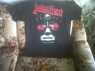 JUDAS PRIEST HELL BENT FOR LEATHER TOUR T SHIRT