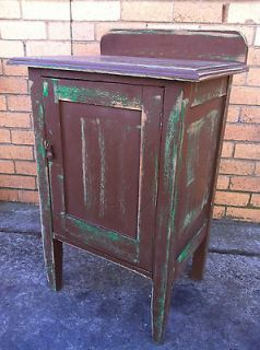 antique potty bedside hall cupboard side table