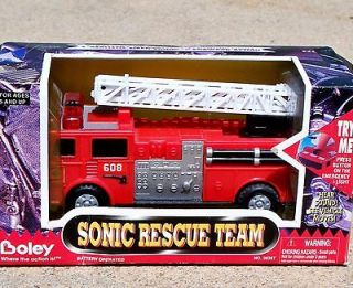 1995 Boley Sonic Rescue Team Fire Engine Aerial Ladder Truck 6