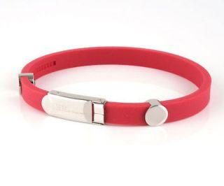 Ion balance magnetic energy titanium Football Team Club bracelet