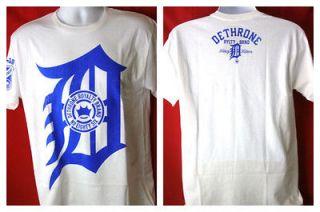 Dethrone Royalty Anticrown White T shirt New