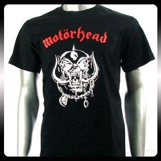 Motorhead Heavy Metal Rock Punk Retro T shirt Sz M Biker Rider Mo7