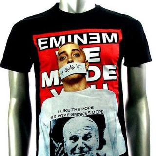 Eminem Heavy Metal Rock Punk Music Men T shirt Sz XL