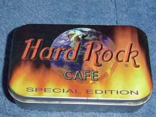 HARD ROCK CAFE SINGAPORE SPECIAL EDITION 4 PIN SET in TIN BOX
