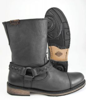 harley davidson zipper boots in Clothing,