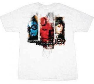 HELLBOY II 2 T Shirt Cloth Tee NEW Hell Boy Team MEN S