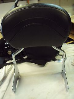 harley davidson road king back rest
