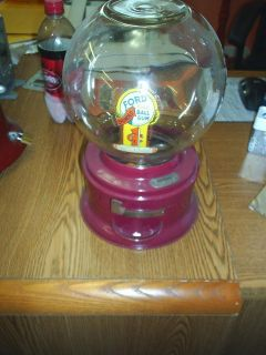 1930s FORD GUMBALL MACHINE Cool FREE GUMBALLS