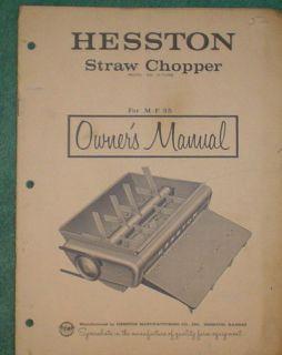 massey ferguson 35 owners manual