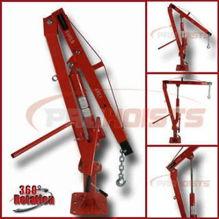 1000 LB PICKUP TRUCK JIB engine hoist crane mount hydraulic pwc dock