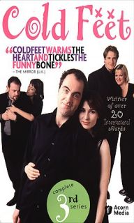 Cold Feet   The Complete Third Series DVD, 2005, 3 Disc Set