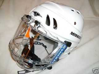 Mission Hockey helmet No Cage equipment gear SM  LG NEW Choice of size
