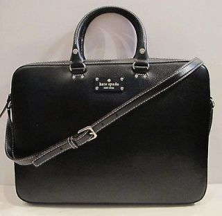 Kate Spade Wellesley Tanner Laptop Bag Purse Tote Case Calista Janine