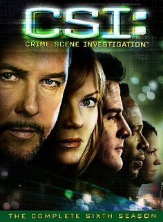 CSI Crime Scene Investigation   The Complete Sixth Season DVD, 2006, 7
