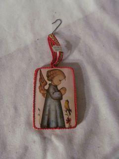 Vintage Angel Christmas Ornament Kathe Wohlfahrt