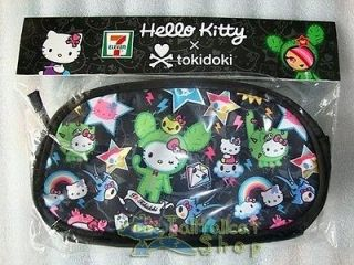 2011 Hong Kong 7 11 X Sanrio Hello Kitty X Tokidoki Cosmetic Bag