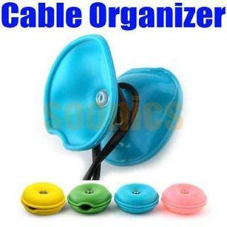 Hot Turtle Cable Cord Wire Organizer Bobbin Winder Wrap For iPod