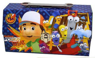 Handy Manny Tin Toolbox Lunch Box   Disney