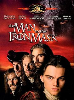 The Man in the Iron Mask DVD, 1998, Standard and Letterboxed