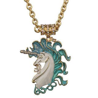NEW KIRKS FOLLY CLOUDWALKER UNICORN MAGNETIC INTERCHANGEABLE NECKLACE