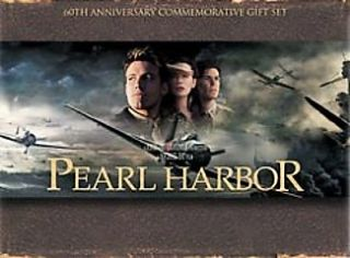 Pearl Harbor DVD, 2001, 3 Disc Set, Gift Set Widescreen Plus